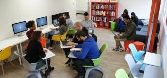 L'Innovation factory fait partie des lauréats de la mairie de Paris pour développer les espaces de coworking étudiants //©Innovation Factory