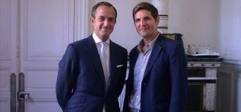 Frédéric Mion directeur de Science Po et Yann Algan directeur de l'Ecole d'affaires publiques de Science Po //©Etienne Gless