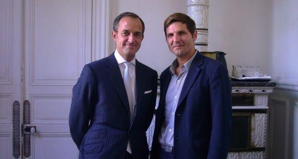 Frédéric Mion directeur de Science Po et Yann Algan directeur de l'Ecole d'affaires publiques de Science Po