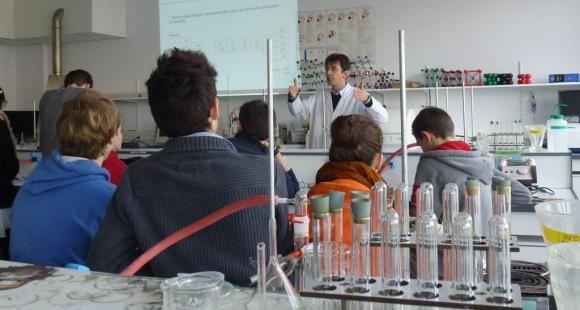 """""""Opération Essai"""" à l'école d'ingénieurs HEI de Lille, en février 2013"""