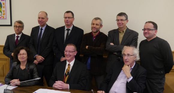Les présidents d'université et directeurs d'école lillois - Octobre 2013 ©C.Stromboni