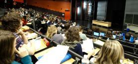 Le campus de Nancy de Lettres et sciences humaines © Alex HerailAmphithéatre sur le campus de Nancy de lettres et sciences humaines, université de Lorraine //©Alex Herail
