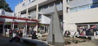 Faculté des lettres, langues et sciences humaines, université d'Angers campus Belle-Beille //©VB