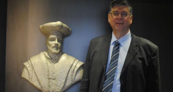Loïc Vaillant, président de l'université de Tours.