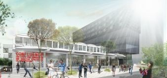L'école Confluence ouvrira ses portes en octobre 2014 © Confluence