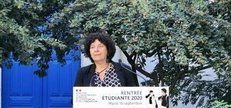 Frédérique Vidal a fait le point sur cette rentrée particulière lors de sa conférence de rentrée. //©Amélie Petitdemange/Educpros