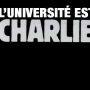 L'université est Charlie //©Université d'Avignon