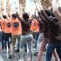 ESC Rennes. Animation pour les admissibles dans les rues de la ville //©ESC Rennes