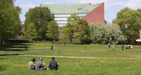 Le campus Otaniemi de l'université Aalto en Finlande