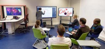 Plus de 9 étudiants sur 10 interrogés par l'université Lyon 3 affirment utiliser leur propre matériel numérique, dans le cadre de leurs études. //©David Venier/Université Jean Moulin Lyon 3