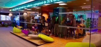 Les espaces de travail de Kedge sont pensés pour le confort des étudiants. //©erwin canard