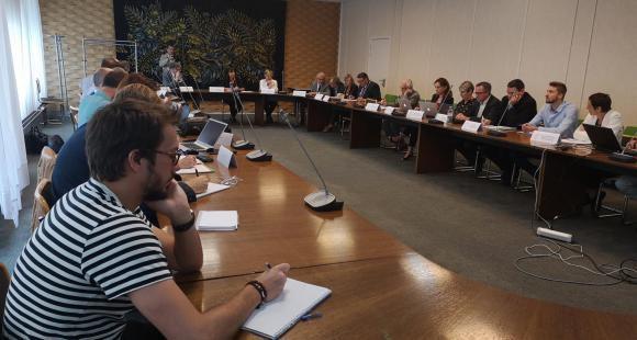 La commission d'accès à l'enseignement supérieur de l'académie de Lille ouvre sa deuxième réunion de travail, mardi 5 mai 2018.