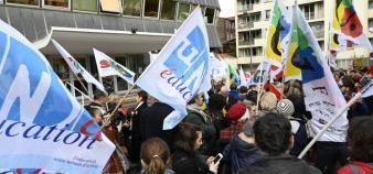 Les enseignants français restent mobilisés sur la question salariale et la réforme des retraites. //©Nicolas Tavernier/REA