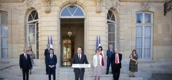 Un an après la signature des accords du Ségur de la Santé, à Matignon, l'heure est au bilan. //©Hamilton / REA