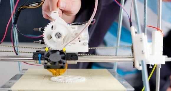 Imprimante 3D dans un FabLab