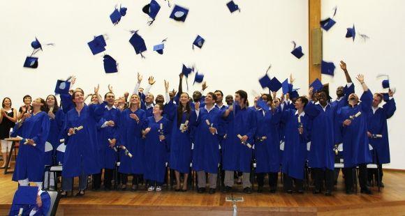 Remise des diplômes de doctorat de l'université Bordeaux Montaigne