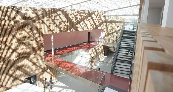 Groupe ESC Troyes, vue intérieure du nouveau campus Brossolette