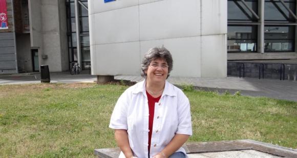 Anne Aubert, vice-présidente orientation, réussite et insertion professionnelle de l'université de La Rochelle et présidente de la Courroie.