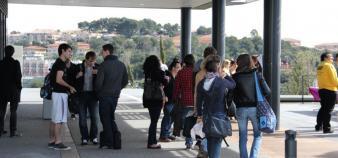 L'université de Nice est notamment présente sur LinkedIn et sur Instagram. //©Camille Stromboni