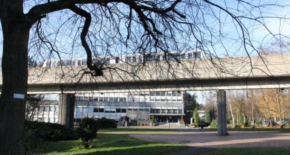 Université Lille 1- campus © Mathieu Oui - décembre 2013