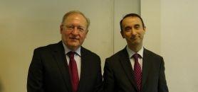 Pierre Louis Dubois (Fnege) et Christian Defélix (IAE Grenoble) - ©EG 22 janvier 2014