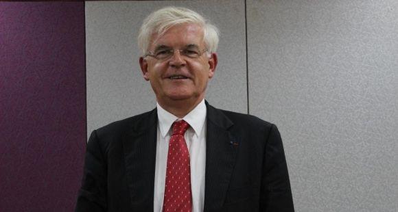 Hervé Biausser, directeur de Centrale-Supélec © D.Dauvergne