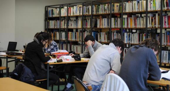 Sciences po Rennes - bibliothèque - 2011 - ©Camille Stromboni