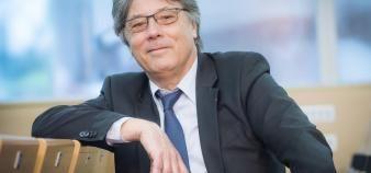 Jean -Michel Nicolle préside l'UGEI depuis 2015 et dirige l'école d'ingénieurs EPF depuis 2008. //©Cédric Helsly