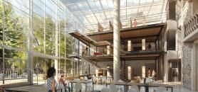 Learning center de Burgundy School of Business (Dijon) //©Burgundy School of Business
