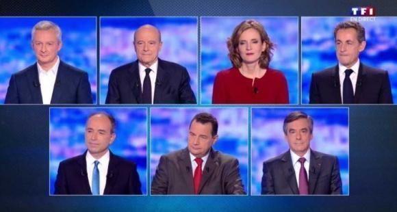 Pendant le premier débat de la primaire de la droite et du centre, le 14 octobre 2016, les sept participants n'ont pas débattu de l'éducation ou de l'enseignement supérieur.
