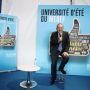 Le président du Medef, Pierre Gattaz, a signé avec la CPU, la CGE et la Cdefi un pacte pour l'enseignement supérieur //©Hamilton / R.E.A