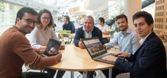 L'innovation pédagogique, et notamment l'apprentissage par compétences, est au cœur du projet de Lionel Luquin, directeur des formations de l'IMT Atlantique. //©IMT Atlantique
