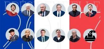 Les propositions des 11 candidats à la présidentielle, en matière d'enseignement supérieur. //©EducPros