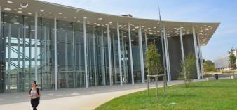En cette rentrée 2017, l'université a ouvert aux étudiants des locaux de 11.400 mètres carrés. //©Guillaume Mollaret