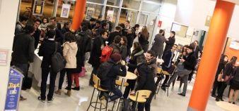 Université de Montpellier - Hall de la Maison des Etudiants Aimé Schoenig //©Ambre Nicolle