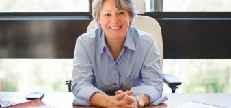 Alice Guilhon succède à Loïck Roche à la tête du Chapitre des écoles de management. //©CGE