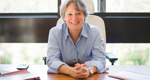 Alice Guilhon, directrice de Skema Business School et présidente du Chapitre des Écoles de management.