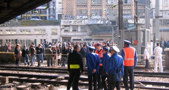 Gare de l'Est. ©VB