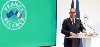 Le plan de relance présenté par Jean Castex prévoit une enveloppe de 6,5 milliards d'euros pour l'enseignement supérieur et la recherche. //©POOL / REUTERS