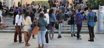 En cette rentrée 2016, 40.000 étudiants supplémentaires rejoignent les bancs de l'université. //©Camille Stromboni
