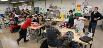 The 22 classes range from design methodology to prototyping and fabrication, sketching and visual communication and product management. //©Jacobs Institute for Design Innovation