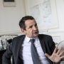 Thierry Mandon secrétaire d'Etat à l'Enseignement supérieur et à la Recherche - rue Descartes //©Jean Luc LUYSSEN/REA