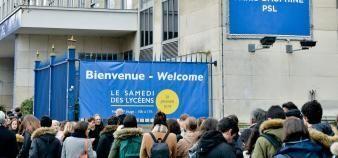 Le 26 janvier 2019, Paris-Dauphine organisait sa journée portes ouvertes qui a attiré 4.800 personnes. //©Studio9-Nicolas