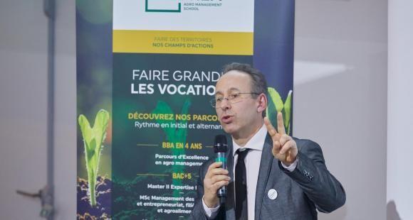 Christian Ouillet dirige l'IHEDREA, école d'agro-management, créée il y a 70 ans. //©IHEDREA