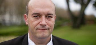Matthieu Gallou, président de l'université de Bretagne occidentale. //©UBO