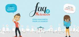 faq2sciences, interface dédiée aux lycéens intéressés par la licence. //©faq2sciences