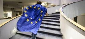 36 centres de formation d'apprentis issus de 14 pays de l'Union européenne qui se sont groupés pour tester à la rentrée 2016 la mobilité longue des apprentis. //©Wiktor Dabkowski/ZUMA/REA