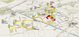Le Campus Condorcet s'installera sur la façade nord de la place du Front populaire, à Aubervilliers.