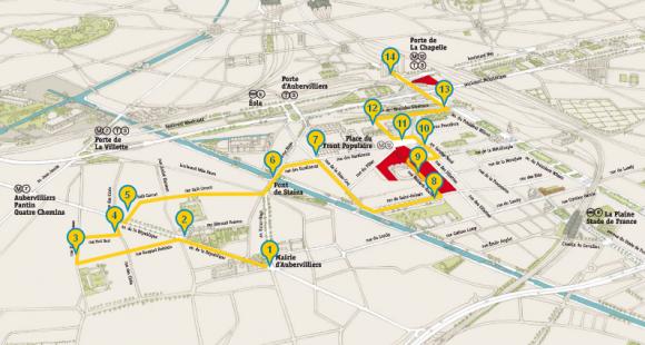 Campus - Condorcet - Carte - fev2013