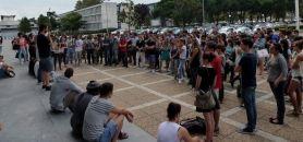 Manifestation à l'université Paul-Sabatier - le 15 septembre 2014 // (c)F. Dessort